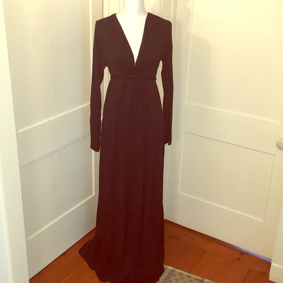 31d64c75247 Rachel Pally Black Empire Waist Maxi Dress. M 5bc387776a0bb71c21a67f79